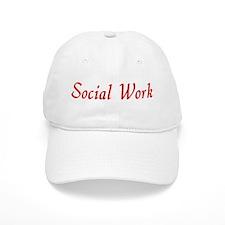 Social Work (red) Baseball Cap