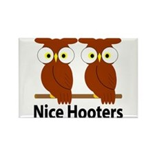 Hooters Rectangle Magnet