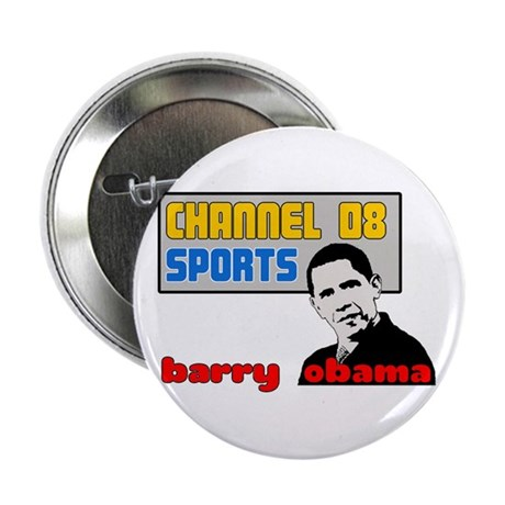 "Obama Sports 2.25"" Button"