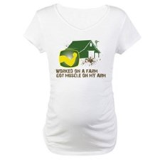 Worked on a farm, got muscle Shirt
