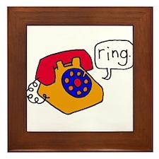 Ring Framed Tile