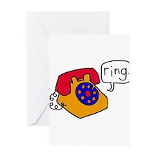 Ring Greeting Card