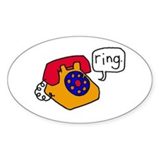 Ring Oval Decal