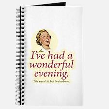 Wonderful Evening - Journal