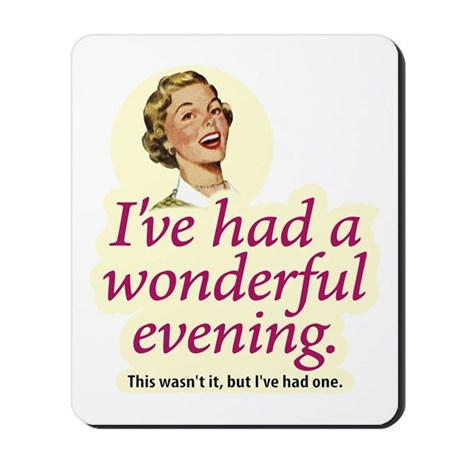 Wonderful Evening - Mousepad