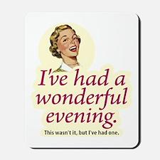 Wonderful Evening - Mousepad