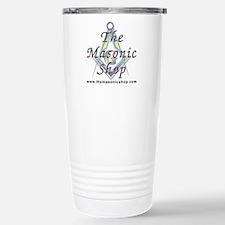 The Masonic Shop Logo Stainless Steel Travel Mug
