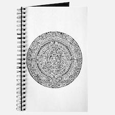 Aztec Sun Calendar Journal