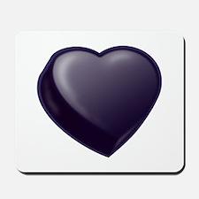 Dark Candy Heart Mousepad