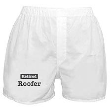 Retired Roofer Boxer Shorts