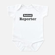 Retired Reporter Infant Bodysuit