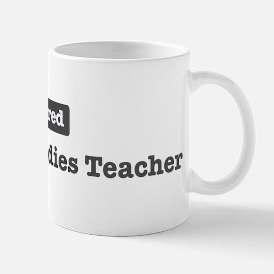 Retired Religious Studies Tea Mug