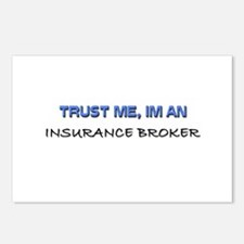 Trust Me I'm an Insurance Broker Postcards (Packag