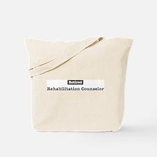 Retired Rehabilitation Counse Tote Bag