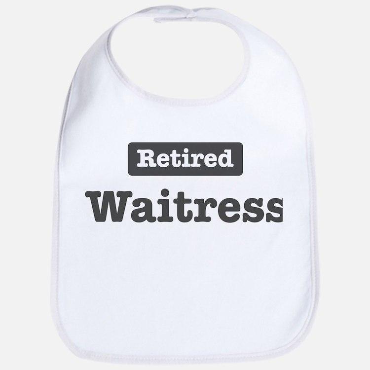 Retired Waitress Bib