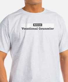 Retired Vocational Counselor T-Shirt