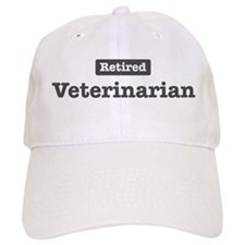 Retired Veterinarian Baseball Cap