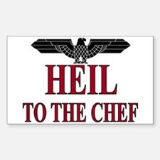 Heil Chef Rectangle Decal