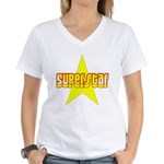 SUPERSTAR Women's V-Neck T-Shirt