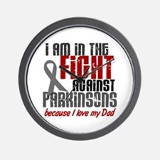 In The Fight 1 PD (Dad) Wall Clock