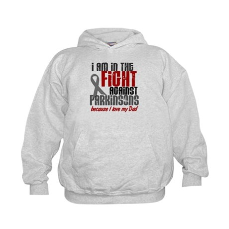 In The Fight 1 PD (Dad) Kids Hoodie