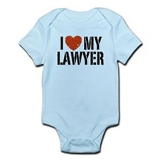 I Love My Lawyer Infant Bodysuit