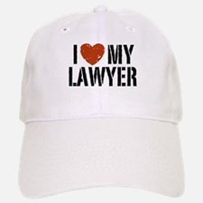 I Love My Lawyer Baseball Baseball Cap
