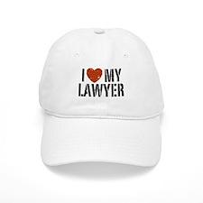 I Love My Lawyer Baseball Cap