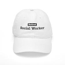 Retired Social Worker Baseball Cap