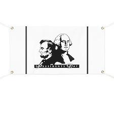 President's Day Banner