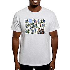 2004+2005 Champs Ash Grey T-Shirt