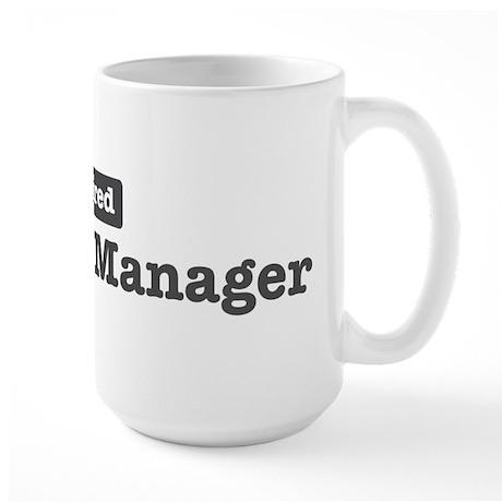 Retired Property Manager Large Mug