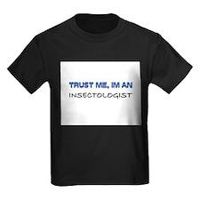 Trust Me I'm an Insectologist Kids Dark T-Shirt