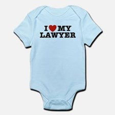 I Love My Lawyer Infant Bodysuit