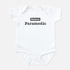 Retired Paramedic Infant Bodysuit