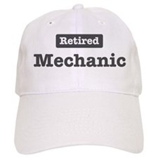 Retired Mechanic Baseball Cap