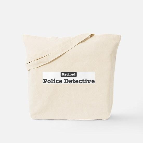 Retired Police Detective Tote Bag