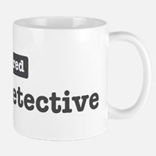 Retired Police Detective Mug