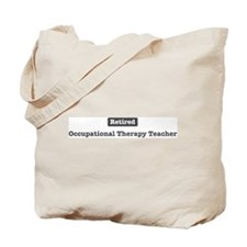 Retired Occupational Therapy Tote Bag