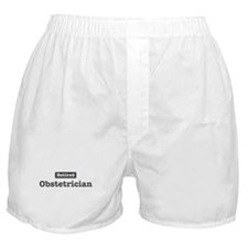 Retired Obstetrician Boxer Shorts