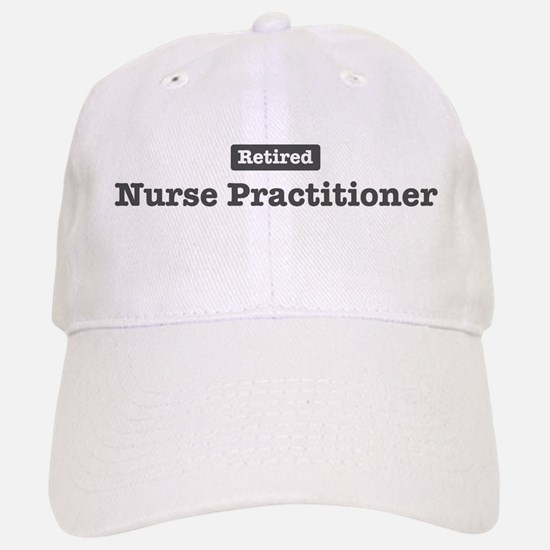 Retired Nurse Practitioner Baseball Baseball Cap