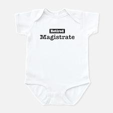 Retired Magistrate Infant Bodysuit