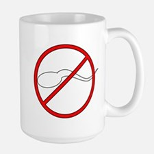 Anti-Sperm Ceramic Mugs