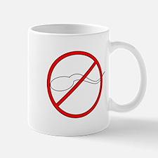 Anti-Sperm Small Mugs