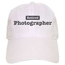Retired Photographer Baseball Cap