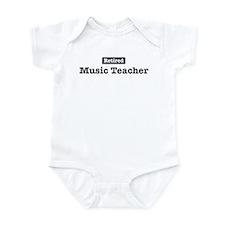 Retired Music Teacher Infant Bodysuit