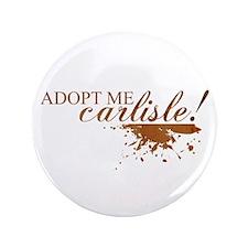 "Adopt Me Carlisle! 3.5"" Button"