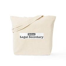 Retired Legal Secretary Tote Bag