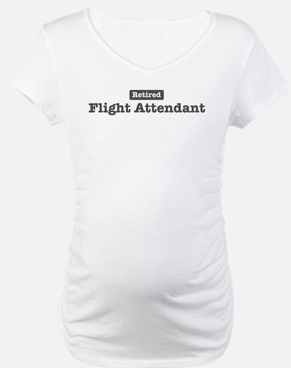 Retired Flight Attendant Shirt