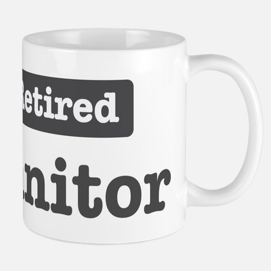 Retired Janitor Mug